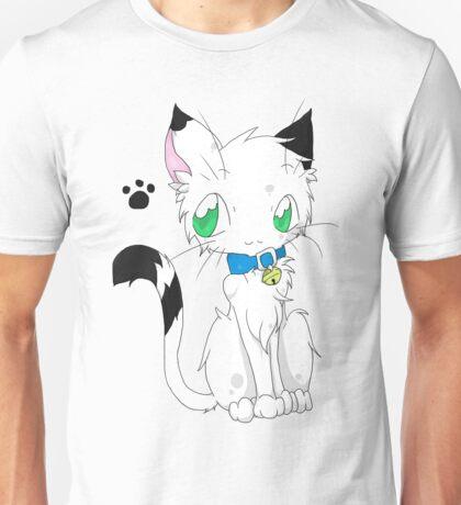 Buchi the white fur Cat Unisex T-Shirt