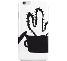 Eat Well saucepan cook restaurant desert cactus survive survival hungry iPhone Case/Skin