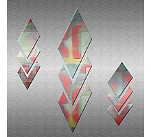 Abstract Diamonds Digital Art Design By Aimee L Maher Photographic Print
