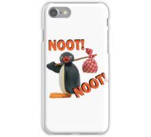 Pingu - NOOT! NOOT! iPhone Case/Skin