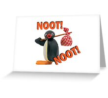 Pingu - NOOT! NOOT! Greeting Card