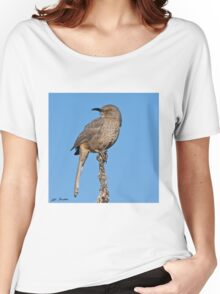 Curve-Billed Thrasher Women's Relaxed Fit T-Shirt