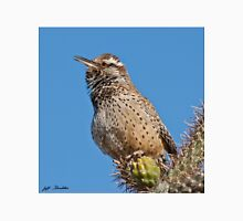 Cactus Wren Singing Unisex T-Shirt