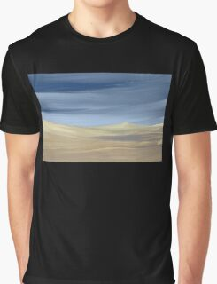 Sweeping desert dune landscape painting  Graphic T-Shirt