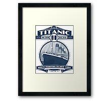 Titanic 2 Framed Print