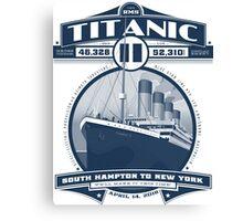 Titanic 2 Canvas Print