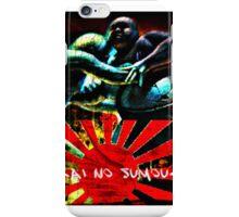 破壊の相撲さん Hakai no sumou-san iPhone Case/Skin