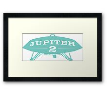 Lost In Space Jupiter 2 Framed Print