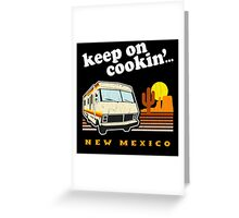 Breaking Bad New Mexico Greeting Card