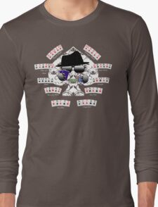 Poker Combinations - HatMan Robot  Long Sleeve T-Shirt