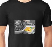 Painting around the world Unisex T-Shirt