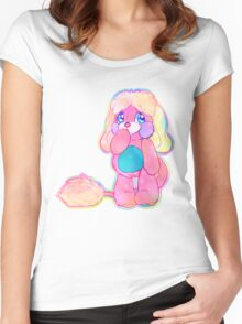 Prize Popples! Women's Fitted Scoop T-Shirt