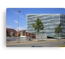 Commercial Architecture, Copenhagen, Denmark Canvas Print