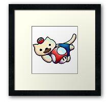 Plumber  Kitty Framed Print