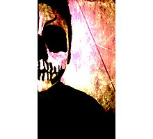 Skeleton Boy Photographic Print