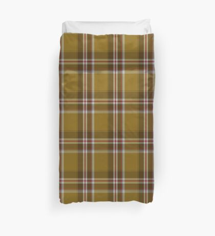 00450 Bell's Whiskey Tartan  Duvet Cover