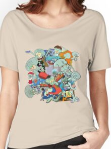 A Jumble of Squidwards Women's Relaxed Fit T-Shirt