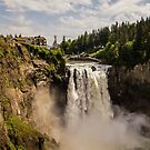 Snoqualmie Falls and Lodge, Washington State by Ian Phares