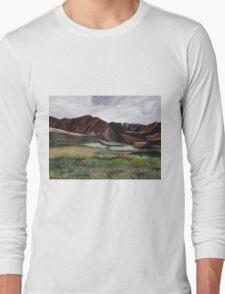 Makua Valley, Oahu, HI  Long Sleeve T-Shirt