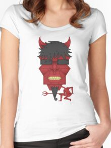 The Devil Women's Fitted Scoop T-Shirt