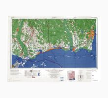 USGS TOPO Map Alabama AL Mobile 707478 1984 250000 Kids Tee
