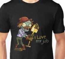Plants vs Zombies - I Love My Job Unisex T-Shirt