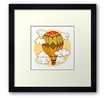 Air balloon Framed Print