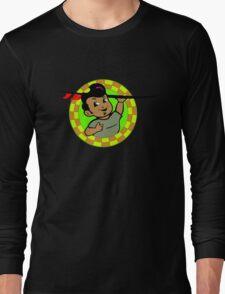 AMOK - retro surfer / surfboard Long Sleeve T-Shirt
