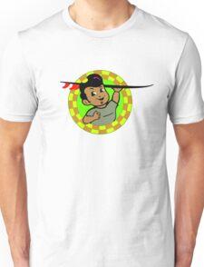 AMOK - retro surfer / surfboard Unisex T-Shirt