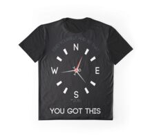 YGT Compass Tee (You Got This!) Graphic T-Shirt
