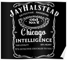 Jay Halstead Whiskey Poster