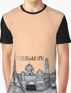 Melbourne in tangles  Graphic T-Shirt