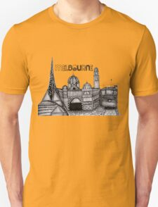 Melbourne in tangles  T-Shirt