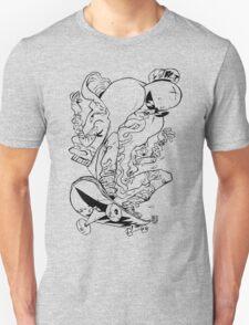 Skatewurst B/W T-Shirt