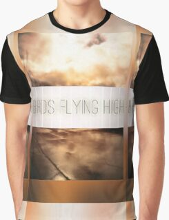 Birds Flying High Graphic T-Shirt