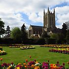 Abbey Gardens, Bury St Edmunds 2014 by wiggyofipswich