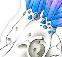 Antelope Skull + Crystal Horns Sticker