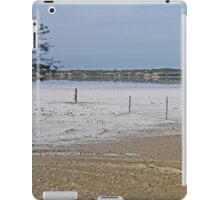 Salt lake, Kangaroo Island, South Australia  iPad Case/Skin