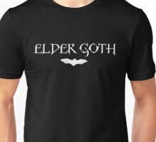 Elder Goth with bat logo Unisex T-Shirt