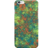 Rusted Abstract Colorful Metal iPhone Case/Skin