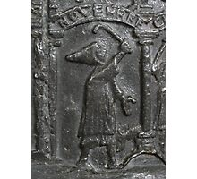 Medieval Lead Font, Dated 1150 Photographic Print