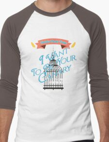 I Want To Be Your Crow Men's Baseball ¾ T-Shirt