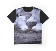 Feeding the Doves Graphic T-Shirt