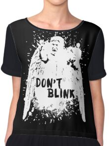 Doctor who - Don't Blink  Chiffon Top