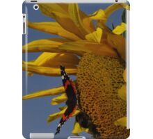 Red Admiral, Bumble Bee & Sunflower iPad Case/Skin