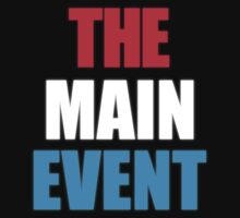 The Main Event Baby Tee