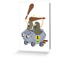 The Slag Brothers Greeting Card