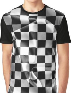 Chequered Flag Graphic T-Shirt