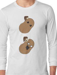 Sasha Eating Potato Long Sleeve T-Shirt
