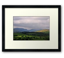 The Lake District Framed Print